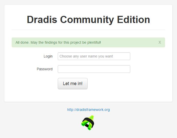 Installing Dradis from Git