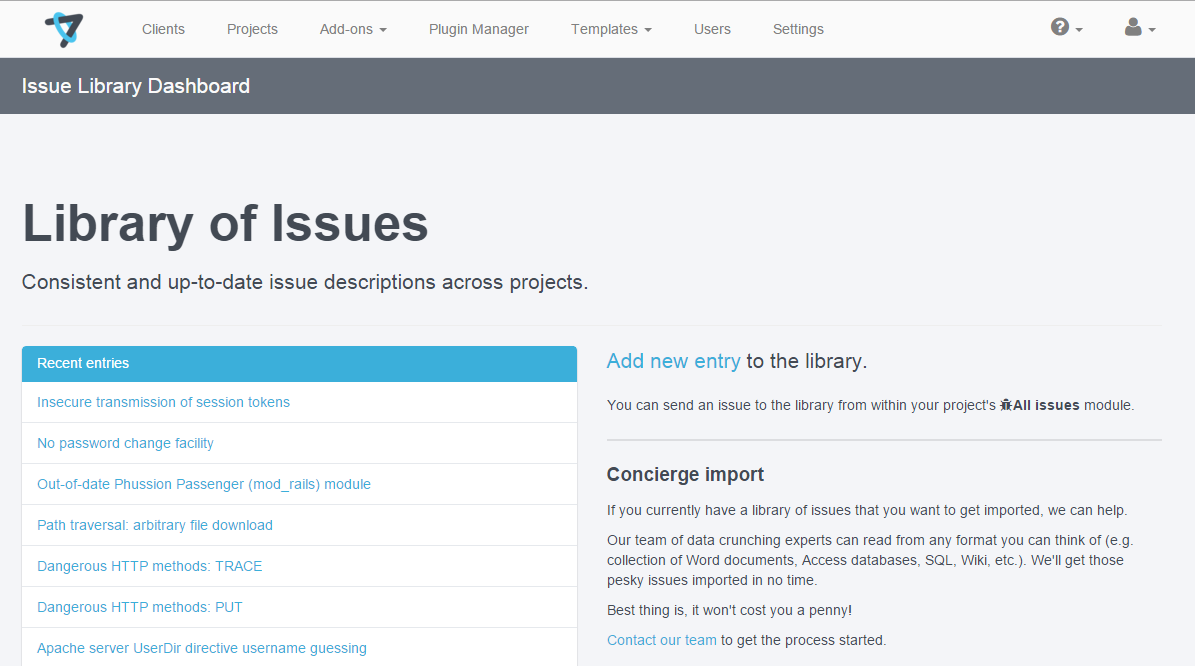 Issuelibrary 01