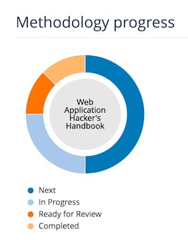 The Methodology progress tracker chart shown in the Project Summary page
