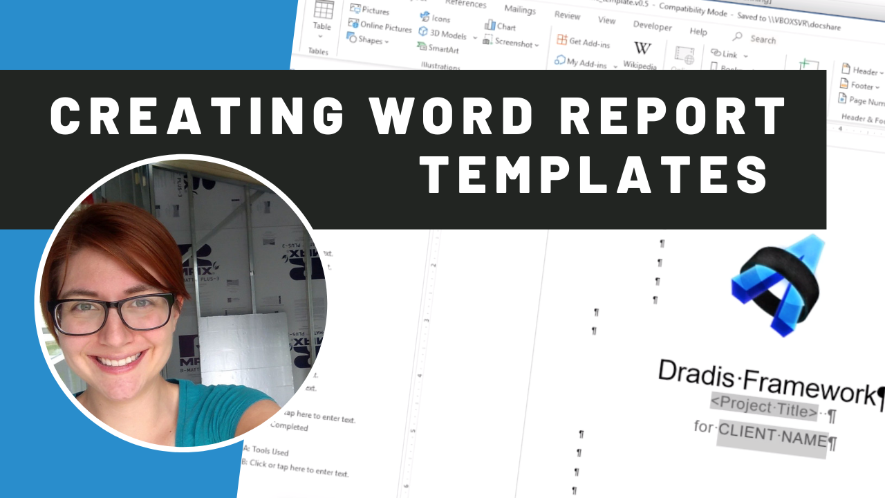 creating word report templates video thumbnail