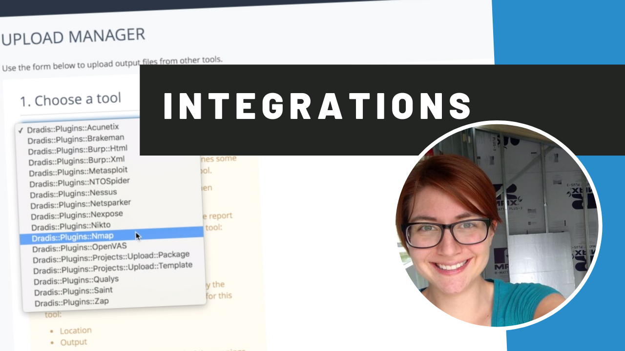 dradis integrations overview video thumbnail