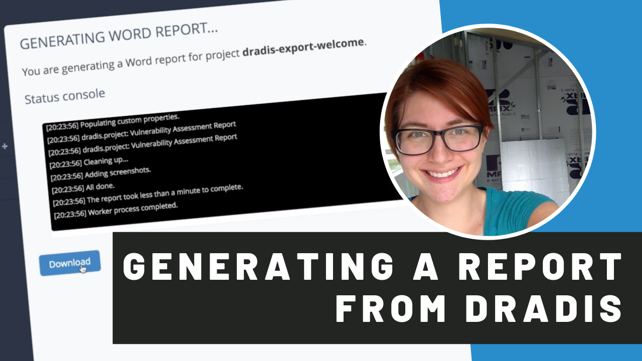 generating a report from dradis video thumbnail