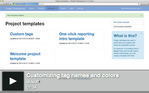 Video custom tags